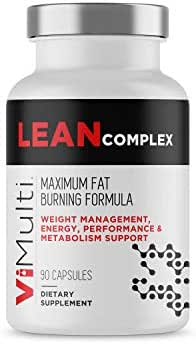 ViMulti Lean Complex Thermogenic Weight Loss Support and Appetite Suppressant to Increase Energy Boost Metabolism and Accelerate Weight Loss.