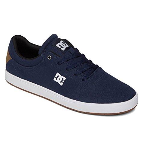 DC Men's Crisis TX Skate Shoe,Dark Blue,11 M US