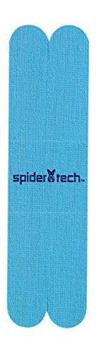 Spider Tech NM0210.06.01.22 Cinta Kinesiológica en Forma de X, color Azul