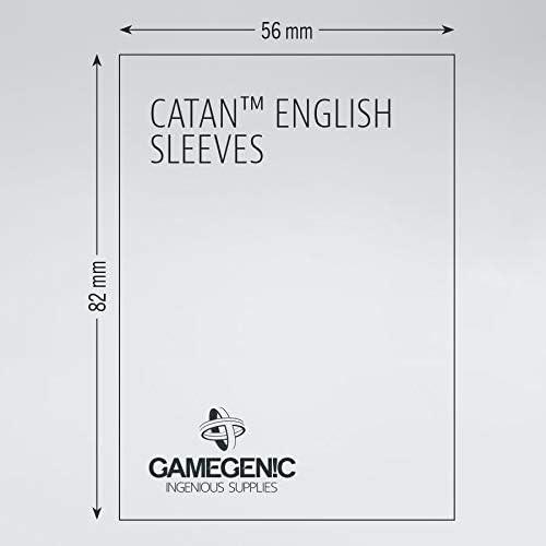 56 x 82mm Matte Catan Sleeves