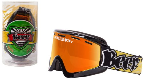 Beer Optics Ski Goggles with Dual Pane Vented Lens (Cold Foamie) by Beer Optics