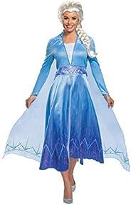 Disguise Deluxe Frozen 2 Womens Elsa Costume