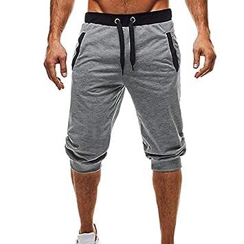 LOJF Pantalones Cortos Hombres De La Moda Pantalones Cortos De ...