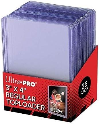 Ultra Pro Toploaders 3 x 4 Claro Regular CT25 Juego de Cartas: Amazon.es: Juguetes y juegos