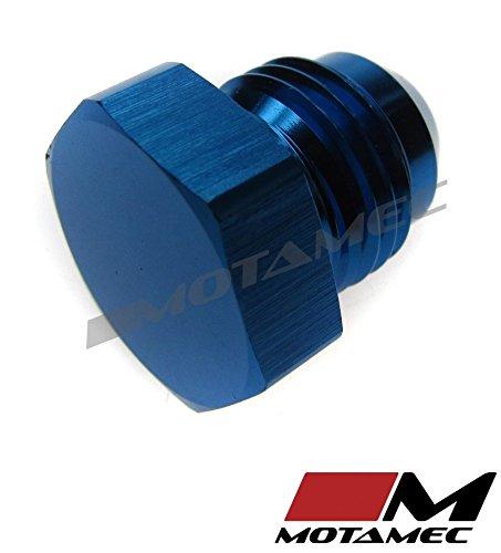 Motamec AN JIC 6 AN6 Flare End Plug Blanking Plug Fitting Alloy Adapter