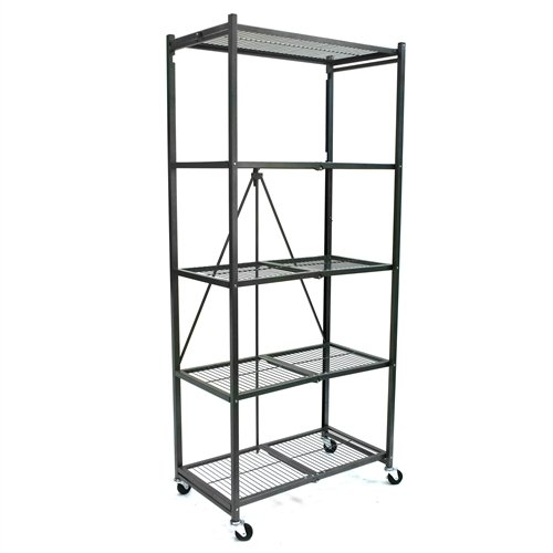 Review Origami Extra Tall 5 Shelf Rack with Heavy Duty Wheels By Origami by Origami