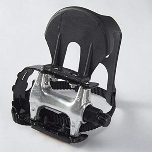 ZqiroLt - Pedales de Bicicleta de Aluminio con Correas para Clip 1 ...