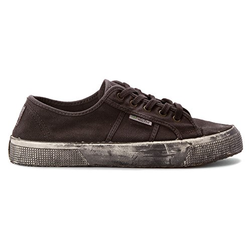 Monde Naturel Womens Basket Enz Goma Colores Fashion Sneakers Negro Enz