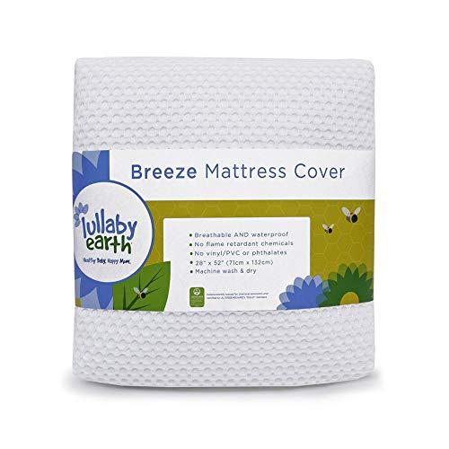 Breeze Breathable Washable Crib Mattress Pad
