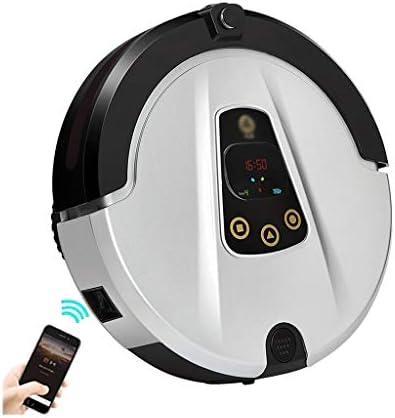 HJQFSJ Robot Aspirador, Control Remoto por Infrarrojos y diseño Ultrafino, anticolisión y anticaída, navegación Inteligente, Adecuado para Suelos Duros y alfombras de Pelo Corto (Color : White): Amazon.es: Hogar