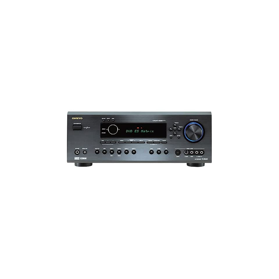 ONKYO TX SR602B Stereo and Home Theater Surround Sound Receiver