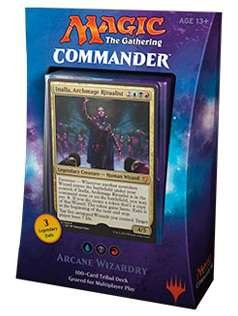 Magic The Gathering MTG Commander 2017 Deck – Arcane Wizardry