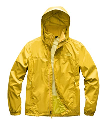 The North Face Men's Resolve 2 Jacket - Leopard Yellow & Acid Yellow - ()