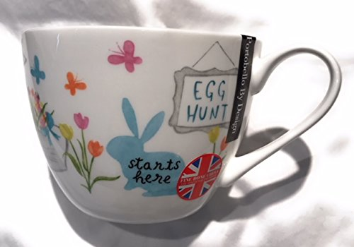 - Portobello By Design Found Me Egg Hunt Bone China Easter Mug
