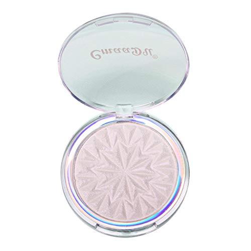 - LiboboProfessional New Makeup Face Powder Monochromatic Bronzer Highlighter Powder Pal (E)