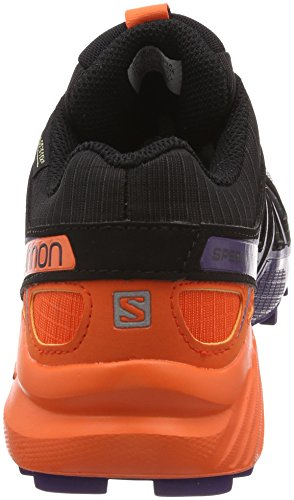 Black 000 W Trail Parachute Speedcross Nasturtium Ltd Purple Donna GTX Salomon Running Scarpe da 4 Nero nAWZWqwB
