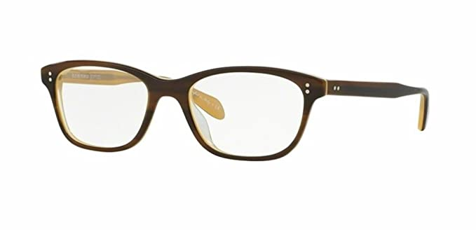 213e928d541 Image Unavailable. Image not available for. Color  Oliver Peoples Ashton  -Tortoise Cream - 5224 52 1281 Eyeglasses