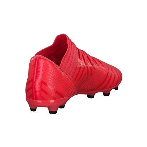 adidas Nemeziz 17.3 FG J, Botas de fútbol Unisex Adulto Naranja (Correa / Rojent / Negbas 000)