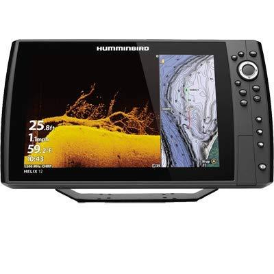 Humminbird 410910-1 Helix 12 Chirp MEGA DI+ GPS G3N Fishing Chart