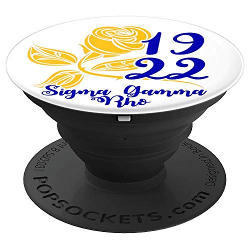 SGRho Sigma Gamma Rose Rho Sorority Paraphernalia Grip Gift - PopSockets Grip and Stand for Phones and Tablets
