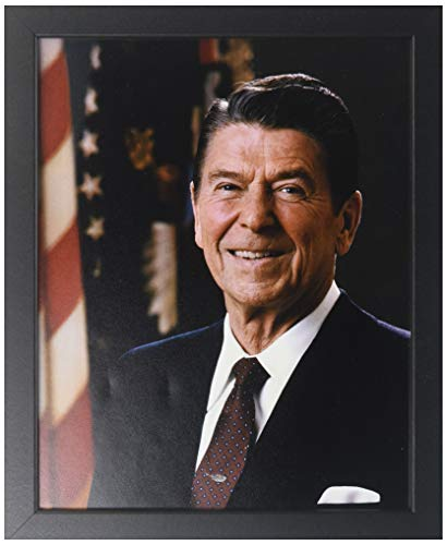 - President Ronald Reagan - Official Portrait - Framed 8x10 Photo