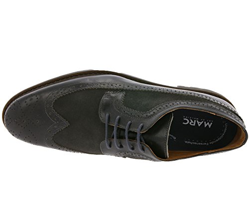 Marc Shoes Herren Brentwood Oxford Grau (anthrazit 00096)