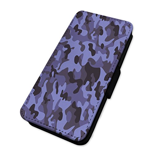 Army camo – camouflage – Custodia ad aletta in pelle cover Apple Iphone 5/5s/SE