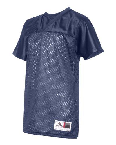 Augusta Sportswear Ladies' Junior Fit Replica Football T-Shirt - NAVY - L