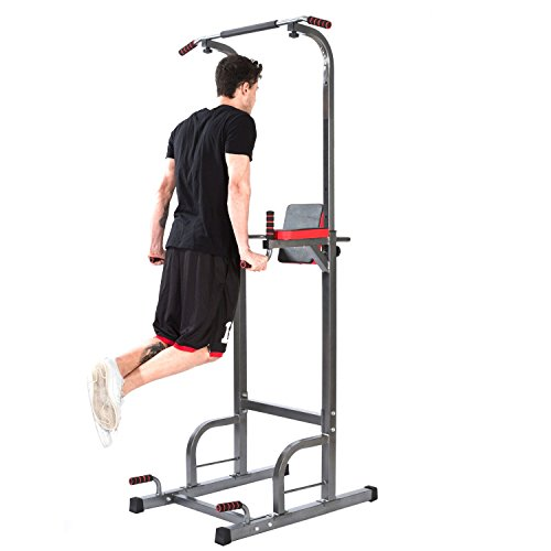 Lx Free Power Tower Adjustable height multi-functional pull-ups Station Home Fitness Workout Station
