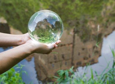 110MM Glass Crystal Ball