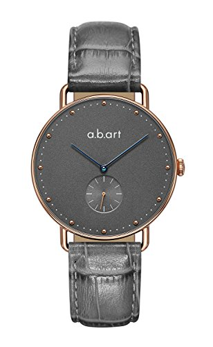 a.b.art Women Watches FR36-004-46L Grey Dial Casual Watches for Girls