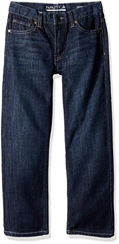 - Nautica Boys' Big 5-Pocket Straight Fit Jeans, Seaworthy, 12