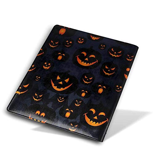 History Of Halloween Jack O Lantern (Halloween Jack O Lantern Jumbo Book Covers Leather Book Suits Fits Hardcover Textbooks Up to 9