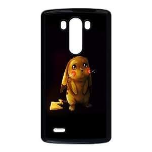 LG G3 Case , Cute Poor Pikachu LG G3 Case Black-PLKS0942679