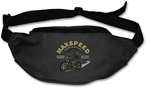 バイカーオートバイユニセックスアウトドアファニーパックバッグベルトバッグスポーツウエストパック