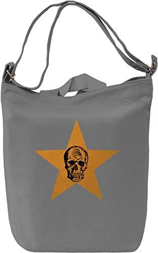Death Star Borsa Giornaliera Canvas Canvas Day Bag| 100% Premium Cotton Canvas| DTG Printing|