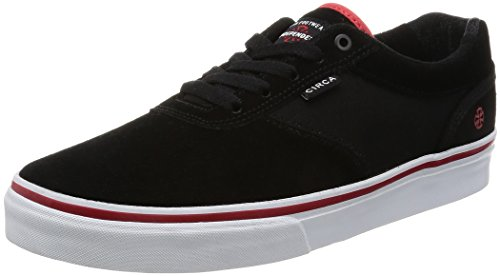 C1RCA Men's Gravette Durable Cushioned Skate Skateboarding Shoe, Indy/Black/White, 13 M US