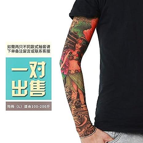 JinRui-Sport Mangas tatuadasMangas para Tatuaje Protección UV ...
