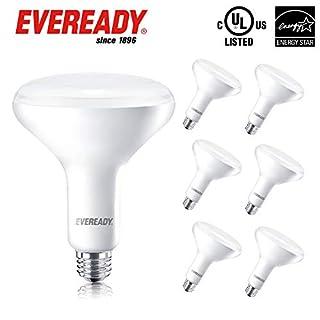 Eveready BR40 LED Dimmable Light Bulbs, 1063 Lumens, 5000K Daylight White Color, 25,000 Hours Lighting Lifespan, 14W Flood Light 85W Bulb Equivalent E26 Base, Energy Star Certified, UL Listed -6 Pack