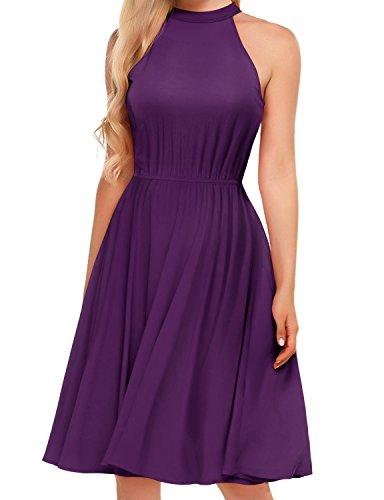 Deep Purple Dress - 4