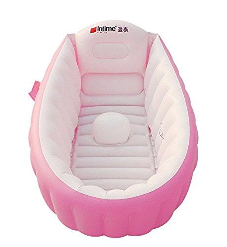 3 opinioni per Baby Infant Vasca da bagno gonfiabile da viaggio, antiscivolo