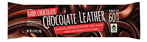 - Chocolate Leather, Chewy Chocolate 0.5 Ounce