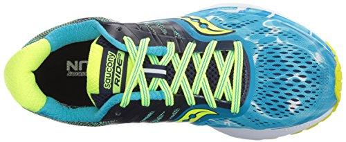 Saucony Ride 10, Zapatillas de Running para Mujer Azul
