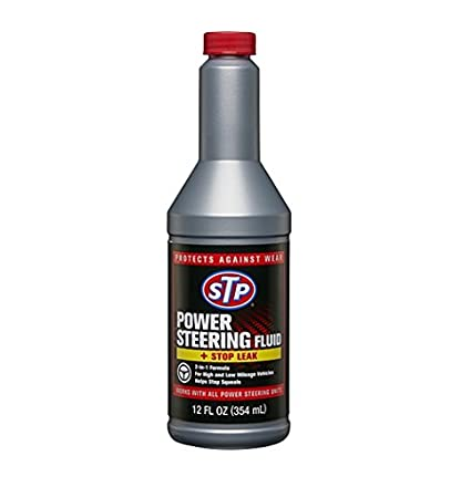 STP 17925 Power Steering Fluid & Stop Leak, 12 fl. oz.