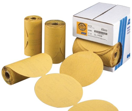 Norton 662611-83819 Gold Reserve 6' P180B PSA Disc Roll, (100 Discs/Roll)