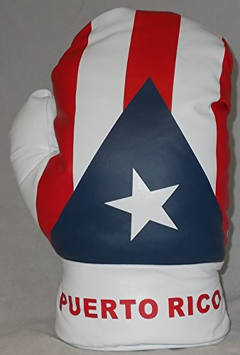 Puerto Rico Boxing Glove Driver Golf Headcover 460cc (Glove Driver Boxing Headcover)
