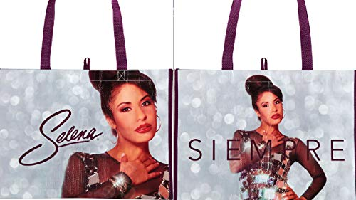 Selena Quintanilla Limited Edition Reusable HEB exclusive Tote Bag Selena Siempre