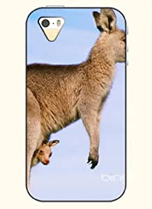 OOFIT Phone Case Design with Kangaroo for Apple iPhone 4 4s 4g