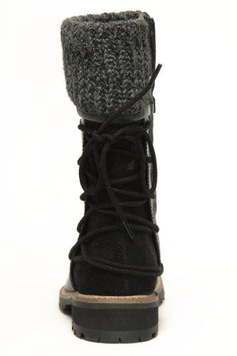 Gabor Mima Kids Boots Schuhe Stiefel Leder 372 71 wasserfest black, Schuhe Kinder:40