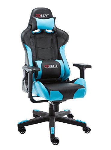 OPSEAT Master Series PC Gaming Chair Racing Seat Computer Gaming Desk Office Chair - Light ()